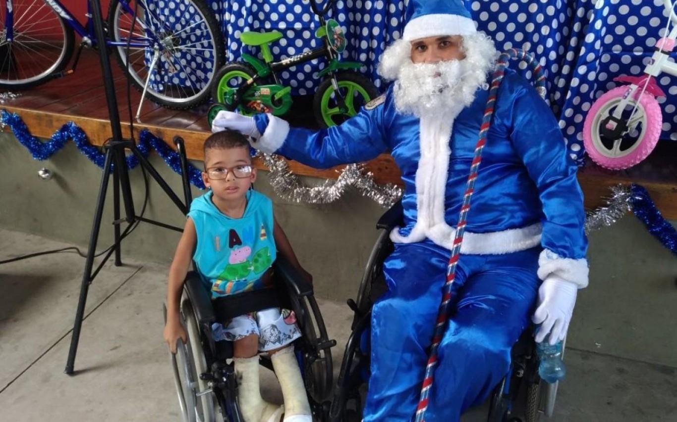 Campanha Natal Azul Inclusivo 2018
