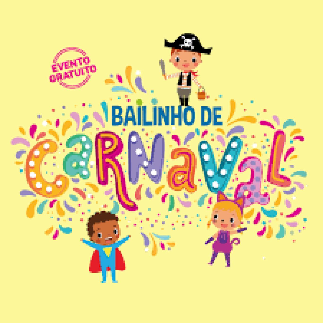 Baile de Carnaval Infantil com Pool Party e Concurso de Fantasia