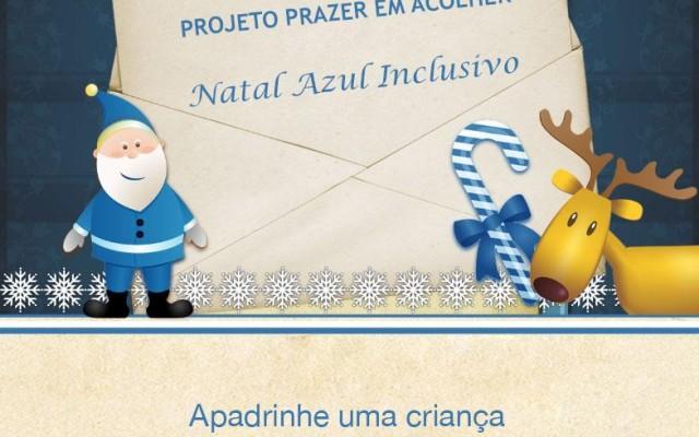 Natal Azul Inclusivo - para os filhos dos policiais mortos em serviço