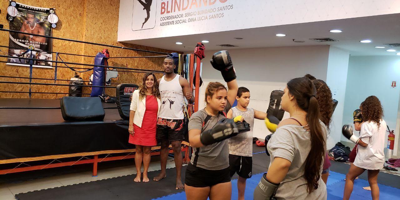 Instituto celebra nova parceria para prática de artes marciais