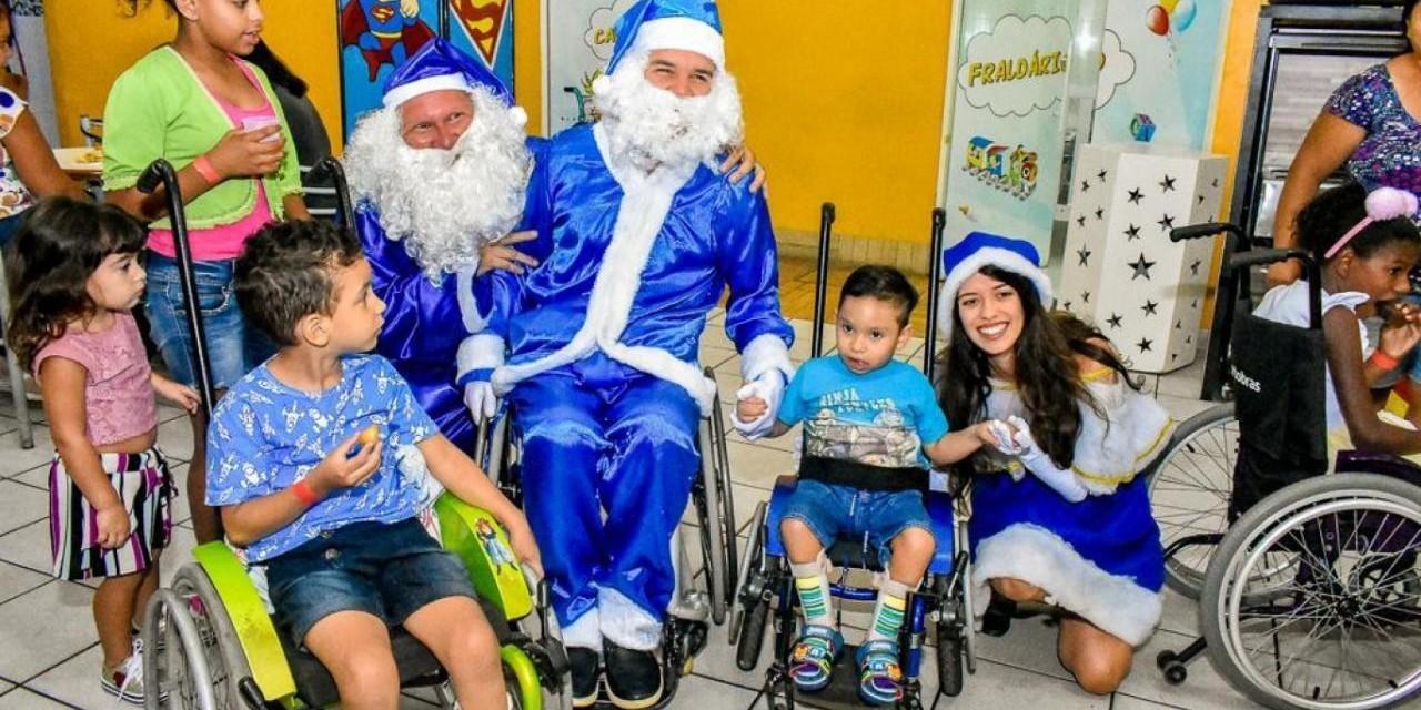 Campanha Natal Azul Inclusivo 2020 - Faça sua doação!!!