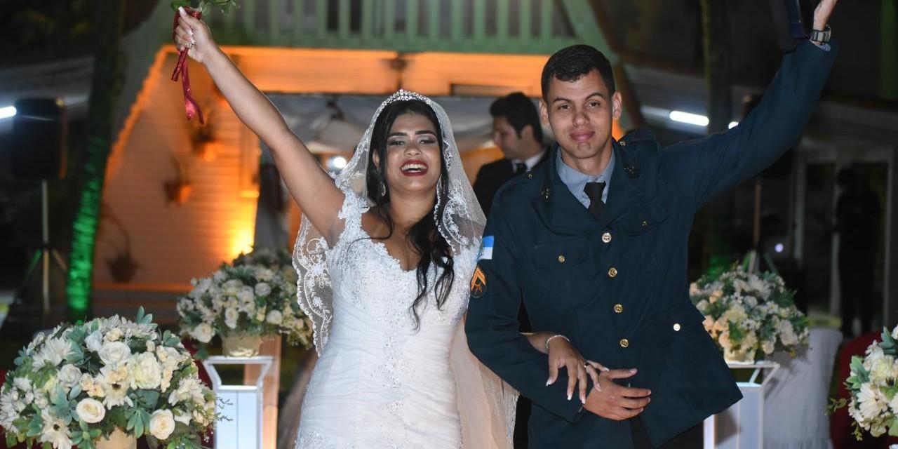 Casamento Campestre reúne 21 casais da Segurança Pública