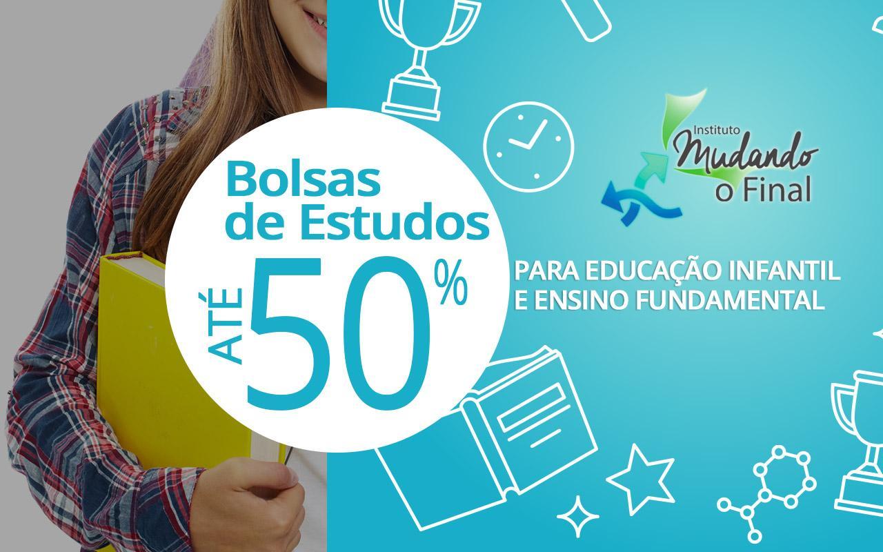 Instituto oferece 150 bolsas de estudos para educação infantil e ensino fundamental